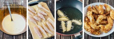Fajitas Pollo Rebozado 2