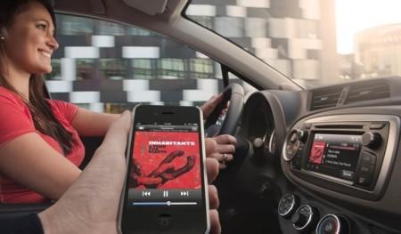Toyota Touch en un Toyota Yaris