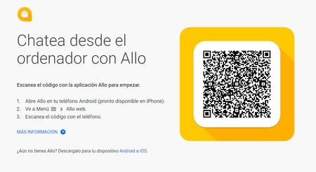 Google Allo ya está disponible en versión web: así puedes chatear desde el PC