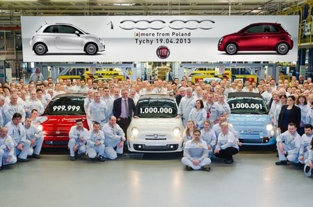 Fiat ha fabricado 1.000.000 de 500 en Europa