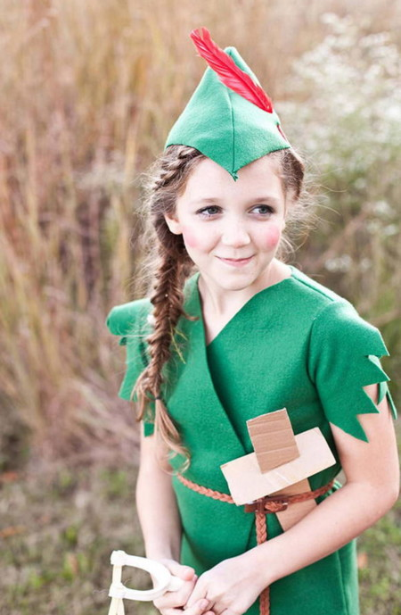 Peter Pan Kid Costume Idea