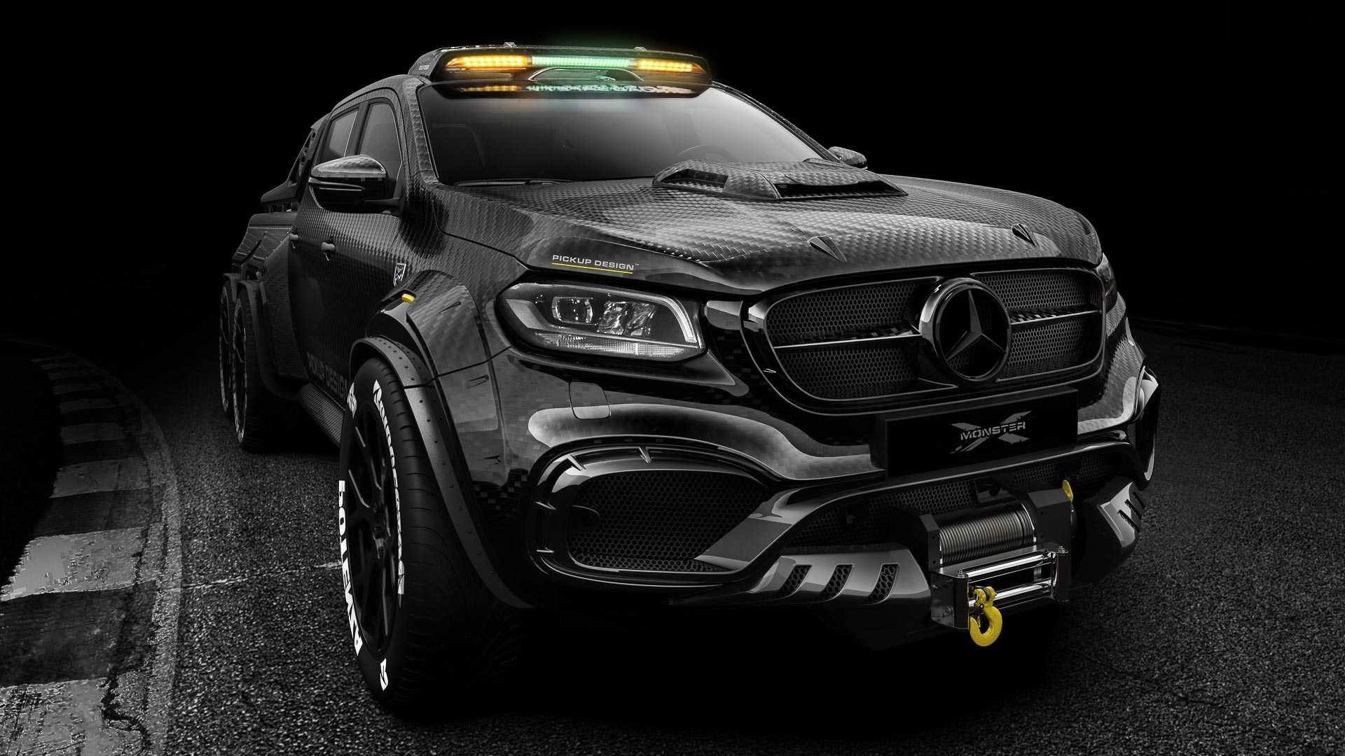 Foto de Mercedes-Benz Clase X Exy Monster X Concept (1/7)