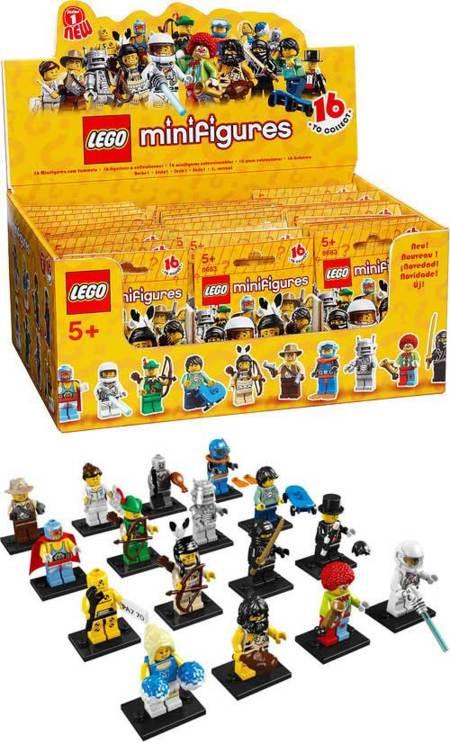 Las minifiguras de LEGO