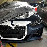El nuevo BMW Serie 4 Coupé se deja ver sin camuflaje. Y sí, la calandra sigue siendo enorme
