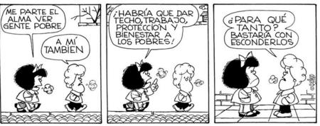 Mafalda Esconder Pobres