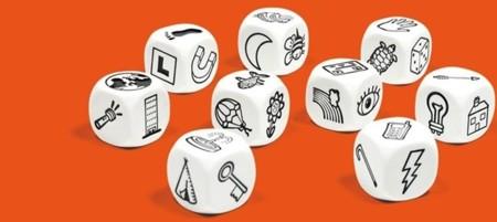 Lanzar los dados y crear una historia: Story Cubes