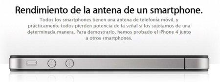 Apple hace desaparecer los vídeos de la competencia en la página del AntennaGate
