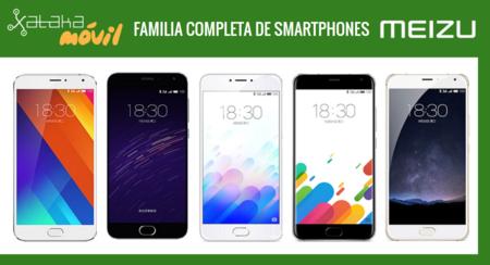 Así queda el catálogo completo de smartphones Meizu tras la llegada de nuevo Meizu M3 Note