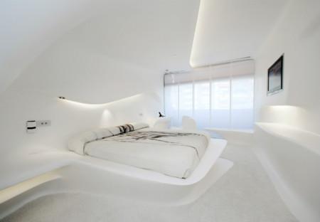 Hoteles Puertaamerica Habitaciones Dormitorio Space Club