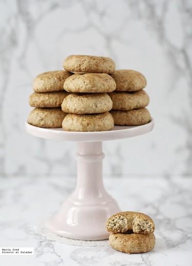 Rosquillas de anís y sésamo. La receta ideal para acompañar el té de la tarde