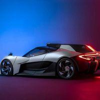 """El Apex AP-0 es un superdeportivo eléctrico de 650cv con """"peso pluma"""" y un diseño inspirado la Fórmula 1"""