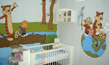 cmo decorar las paredes de la habitacin del beb cuento