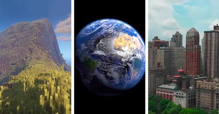 Alguien aprovechó la cuarentena y se puso a construir todo nuestro planeta Tierra, y a escala, en 'Minecraft'