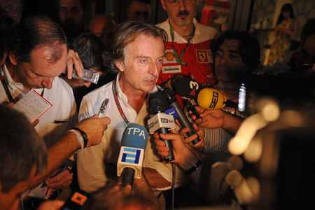 Luca Cordero di Montezemolo: Aún no es el momento de Sergio Perez