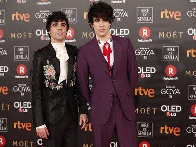Los Javis, los más originales de los Premios Goya 2018