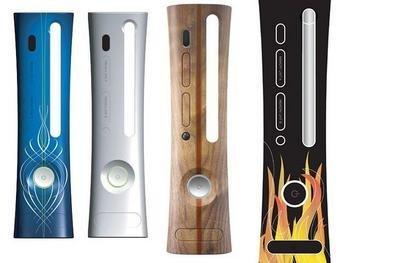 Carcasas intercambiables para Xbox 360