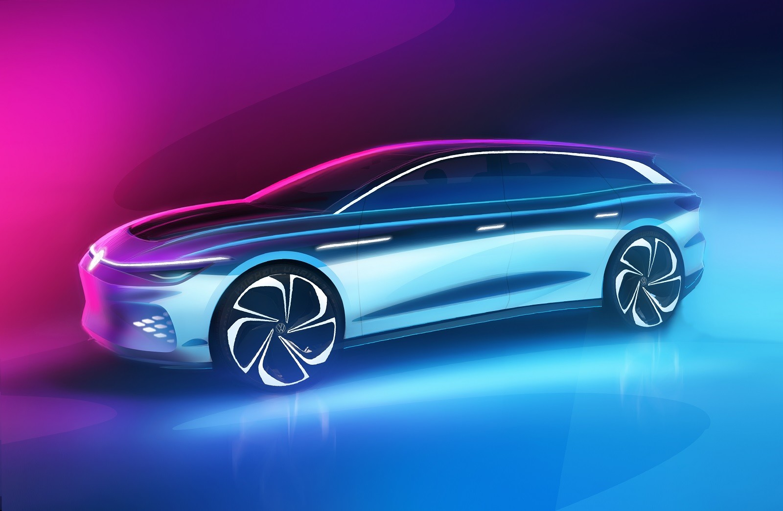 Foto de Volkswagen ID. Space Vizzion Concept (17/32)