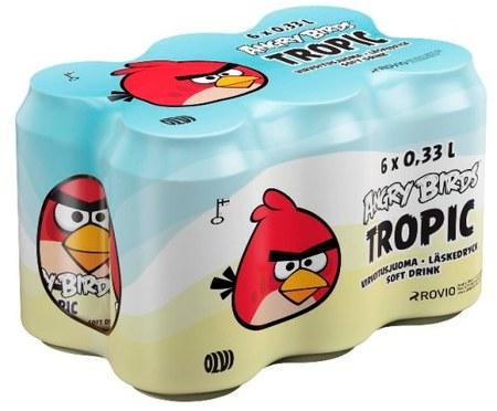 bebida de Angry Birds