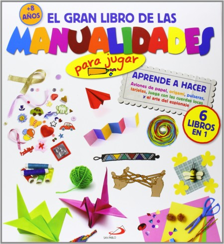 Los 13 mejores libros de manualidades para niños
