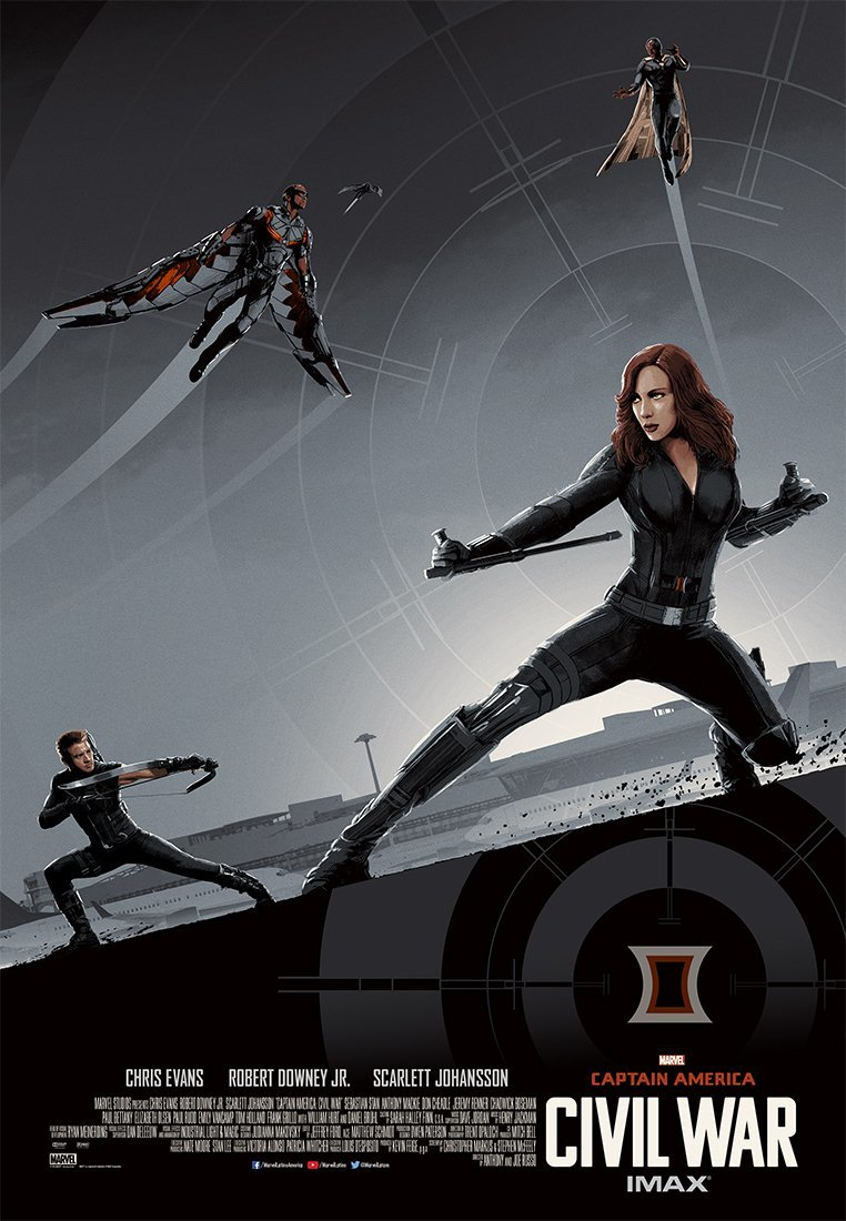 Foto de 'Capitán América: Civil War', los carteles de la película (21/22)