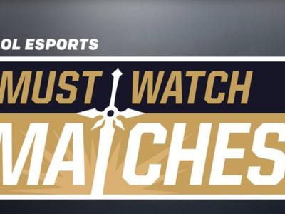 """League of Legends: Riot presenta """"Must Watch Matches"""", un recopilatorio de los mejores partidos de la semana"""