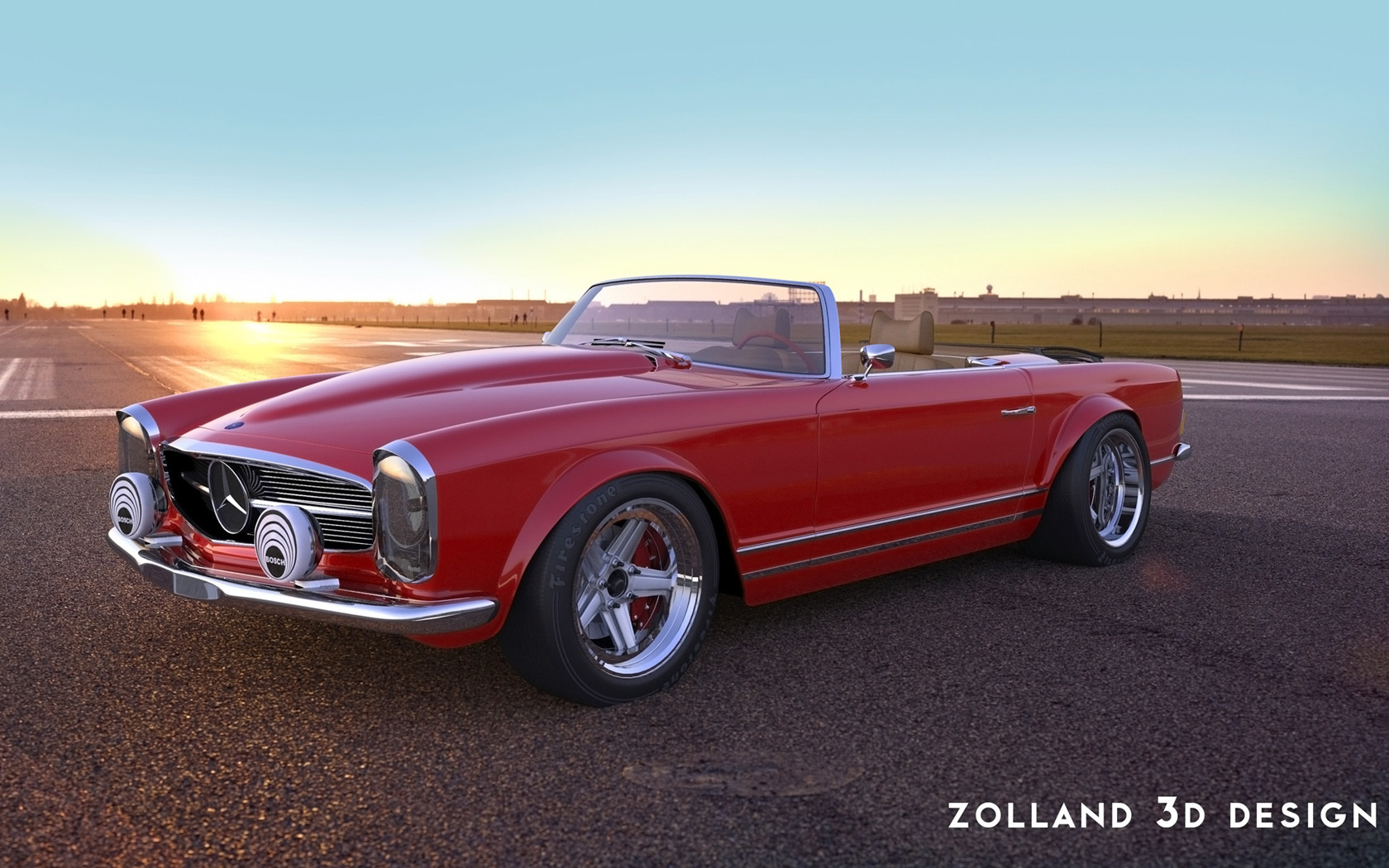 Foto de Mercedes-Benz 230SL Zolland Design (1/7)