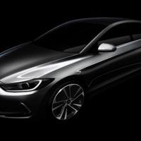 Hay un nuevo Hyundai Elantra a la vuelta de la esquina, y se parecerá a este primer boceto