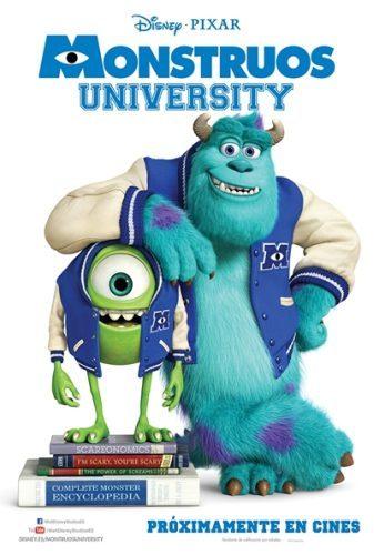 El cartel de Monstruos University