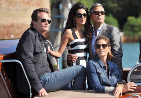 Cindy Crawford eclipsa a la novia en la boda de George Clooney