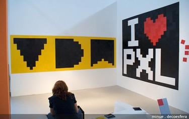 Feria Hábitat Valencia 2010: haz de tu pared un cuadro con Pixels XL