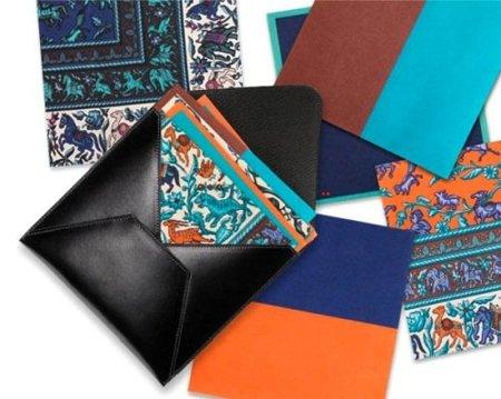 Set de papeles de origami de Hermès