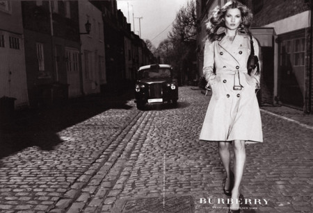 Kate Moss Burberry