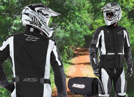 Chaqueta y pantalón AXO Glide para rutas de enduro