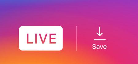 Instagram escucha a los usuarios y ya permite descargar los vídeos y fotografías de tus directos