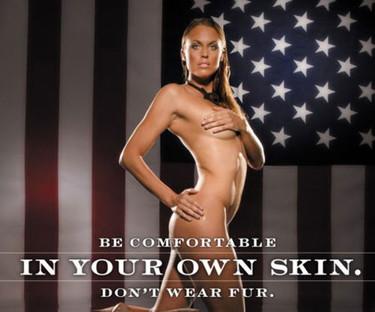 Amanda Beard se desnuda para PETA
