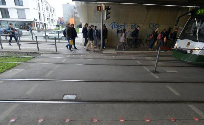 Lichtsignal Boden Haunstetter Strasse 1