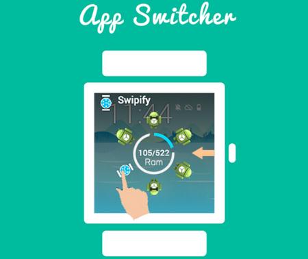 Swipify, un launcher para Android Wear que mostrará con estilo tus aplicaciones recientes