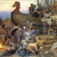 LiDAR 0 - Mapa del siglo VII 1: una antigua ilustración ha podido ser clave para encontrar antiguos restos vikingos