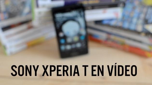 Sony Xperia T en vídeo