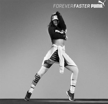 Rihanna es la nueva imagen de la campaña Forever Fast de Puma