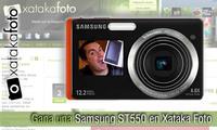 Participantes del concurso Gana una Samsung ST550