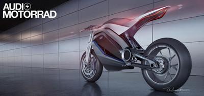 Audi Motorrad, ahora sí el boceto de la moto alemana