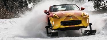 El Nissan 370Zki es un plan para que disfrutes del paisaje invernal antes de que llegue la primavera