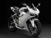 Novedades Salón de Colonia 2012: blanco inmaculado para la Ducati 1199 Panigale S