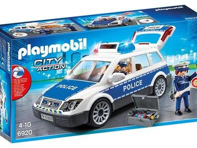 El set de coche de policía con luces y sonido de Playmobil ahora sólo cuesta 24,90 euros en Amazon