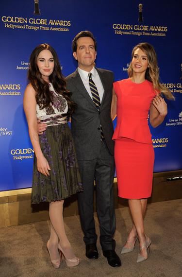 Con Jessica Alba y Megan Fox dan más gusto las nominaciones a los Globos de Oro 2013