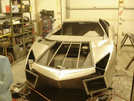 Lamborghini Reventon Replica Pontiac Fiero