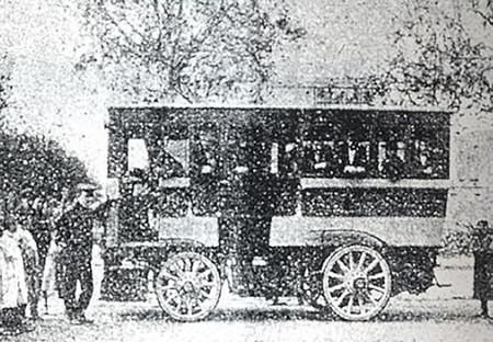 La Cuadra Omnibus 1900