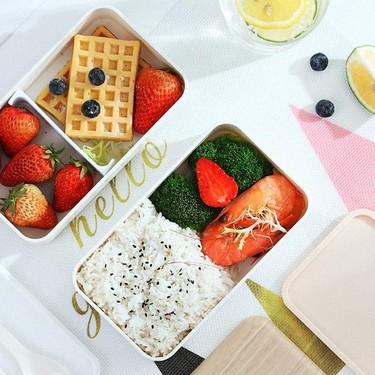 17 tuppers bonitos para tus comidas caseras que no te dará vergüenza llevar a la oficina