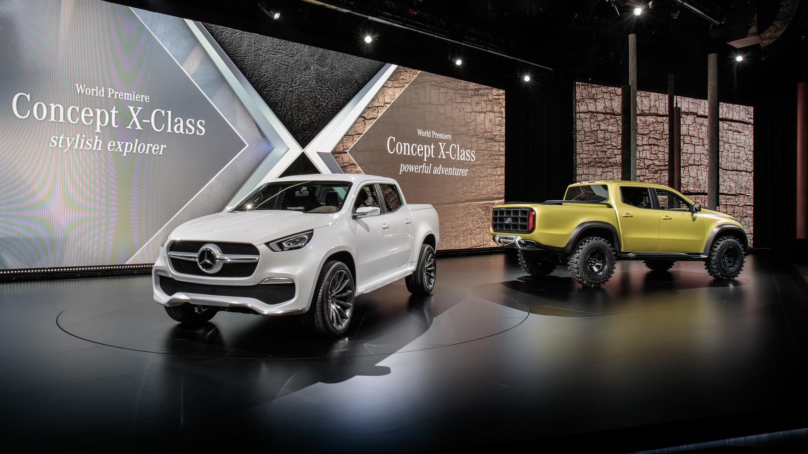 Foto de Mercedes-Benz Concept Clase X (1/31)